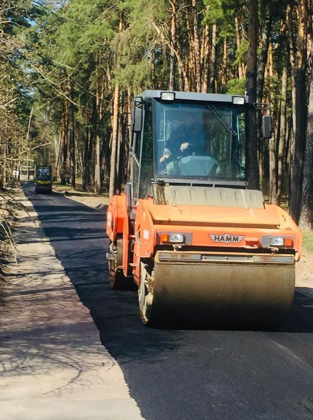remont 8 bereznya В Сосниці продовжують ремонтувати дороги