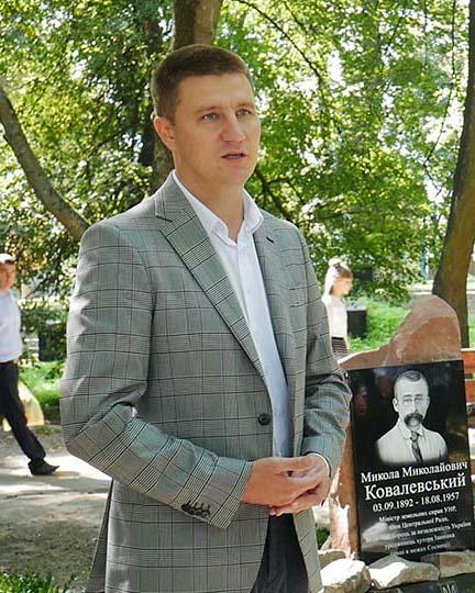 p1050511.00 12 27 22.still004 В Сосниці відкрили пам'ятний знак Миколі Ковалевському
