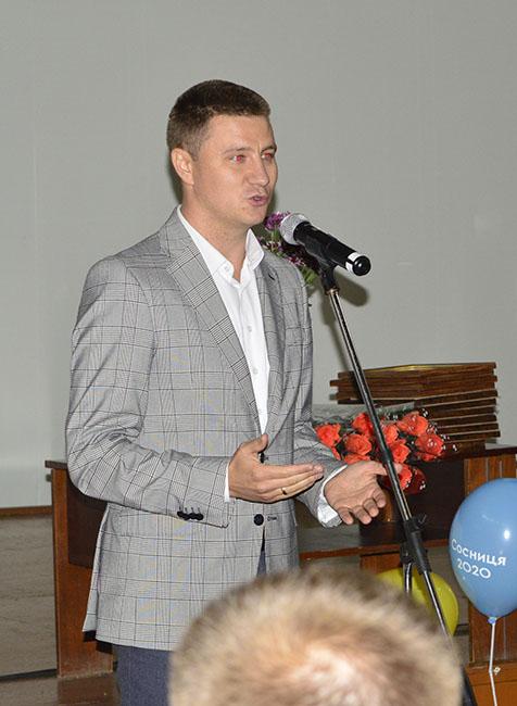 portnyj andrij У Сосниці привітали освітян з професійним святом