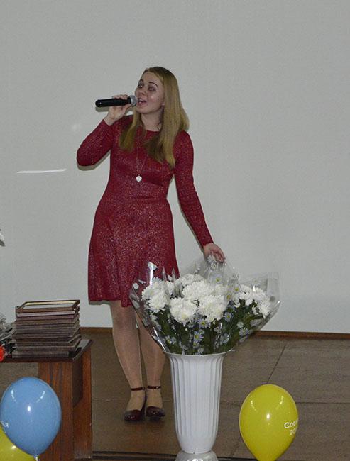 ryta demydenko У Сосниці привітали освітян з професійним святом