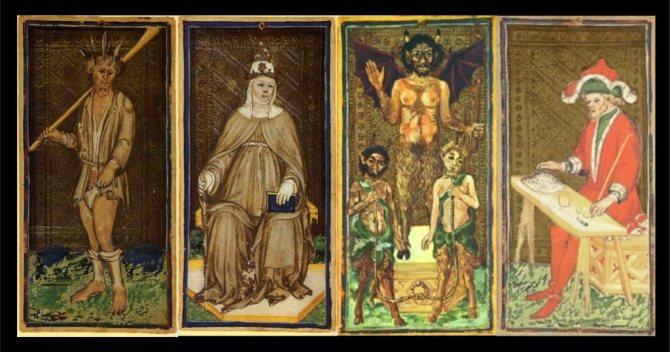 drevnie italyanskie karty taro Все, що потрібно знати про ворожіння на картах Таро