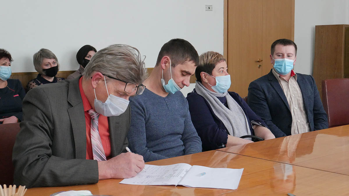 P1100285 min Сьогодні в Сосниці відбулась перша офіційна зустріч з експертами Програми DOBRE