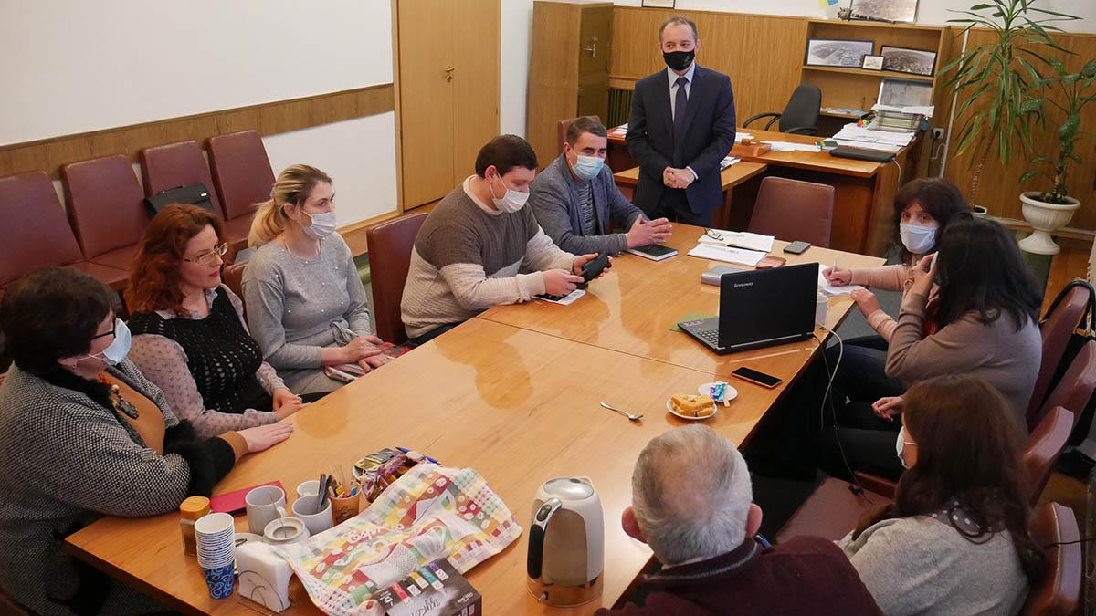 P1100289 min Сьогодні в Сосниці відбулась перша офіційна зустріч з експертами Програми DOBRE