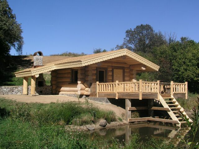 построить баню из бревна от https://www.sddu.com.ua/ru/