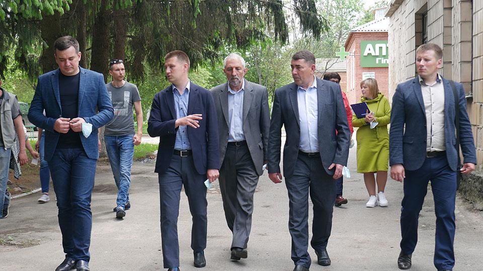 P1170580 Народний депутат України Максим Зуєв з робочим візитом у Сосниці