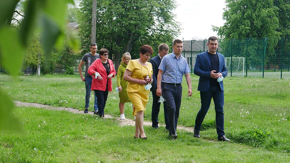P1170873 Народний депутат України Максим Зуєв з робочим візитом у Сосниці