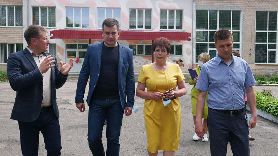 P1170988 Народний депутат України Максим Зуєв з робочим візитом у Сосниці