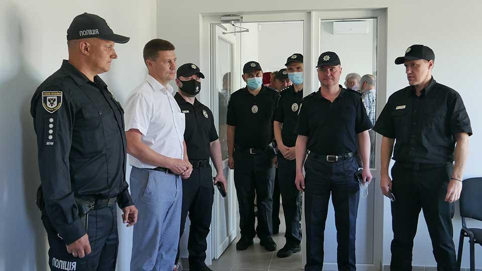 police5 На території Північного старостинського округу відкрилась поліцейська станція